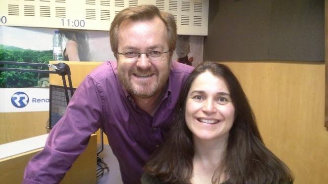Sofia Ferros com Carlos Bastos em Entrevista à Rádio Renascença